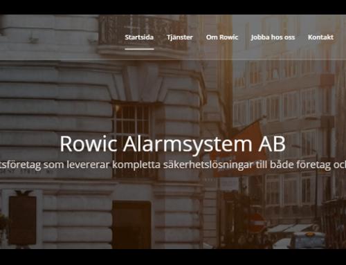Rowic Alarmsystem AB